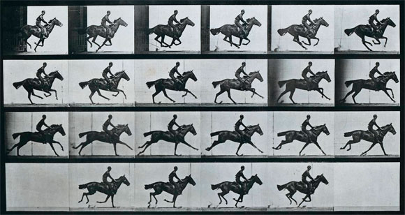 Caballo al galope de Muybridge